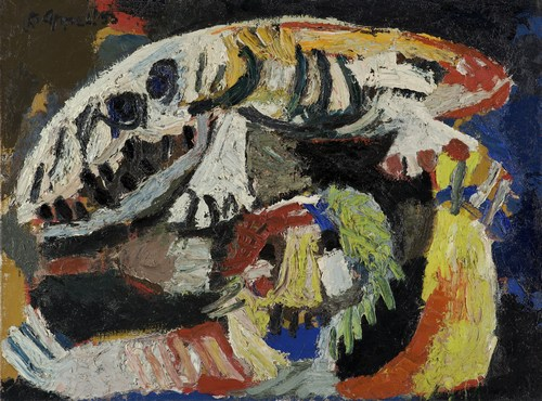 09 - Karel Appel, Animals, 1953
