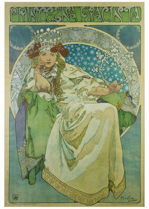 Alfons Mucha e l'Art Nouveau